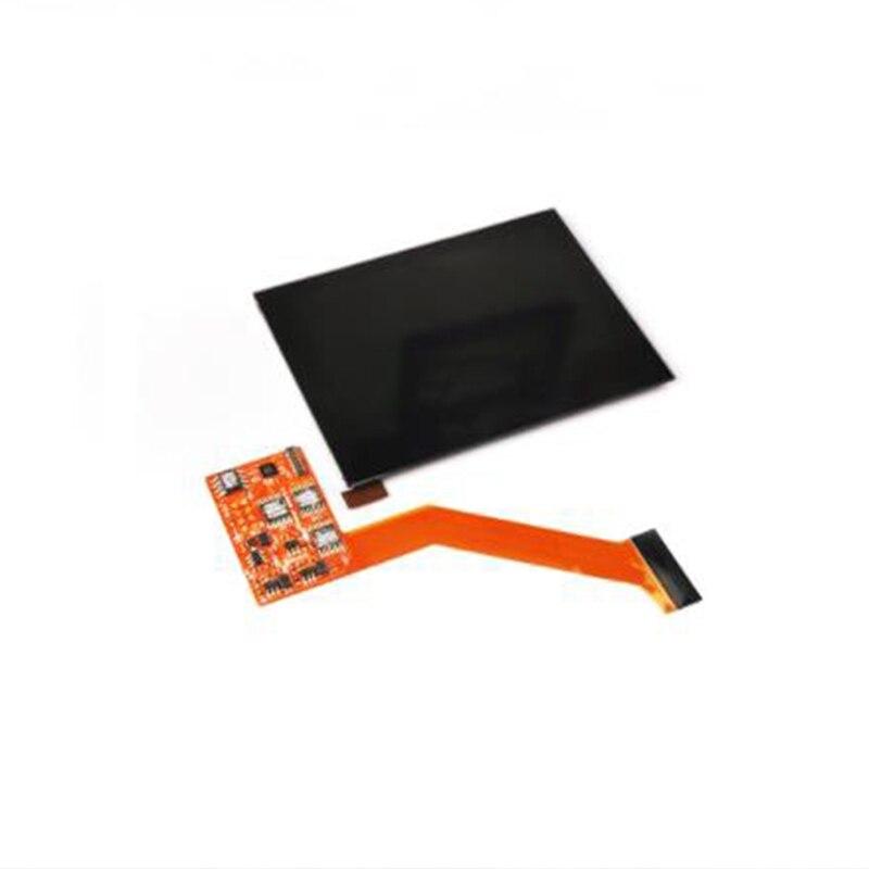 IPS LCD Sn استبدال عدة لنينتندو GBA SP ل GBA SP الخلفية Sn عالية السطوع العرض