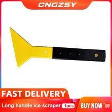 Foot Squeegee Long Handle Ice Scraper Big Snow Shovel High Temperature Front and Rear Extension Scraper Glass Film Tools B23