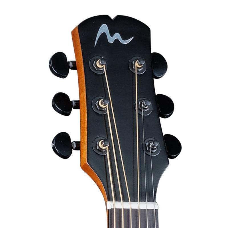 41 Inch Folk Guitar Picea Asperata Solid Guitar Rosewood Fingerboard Concert Guitar 6-String Acoustic Guitar AGT191 enlarge