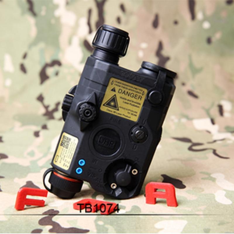 New Tactical FMA PEQ LA5-C Upgrade camping Version LED White Light + Red/IR Laser TB1074 BK/DE/FG hunting Helmet accessories
