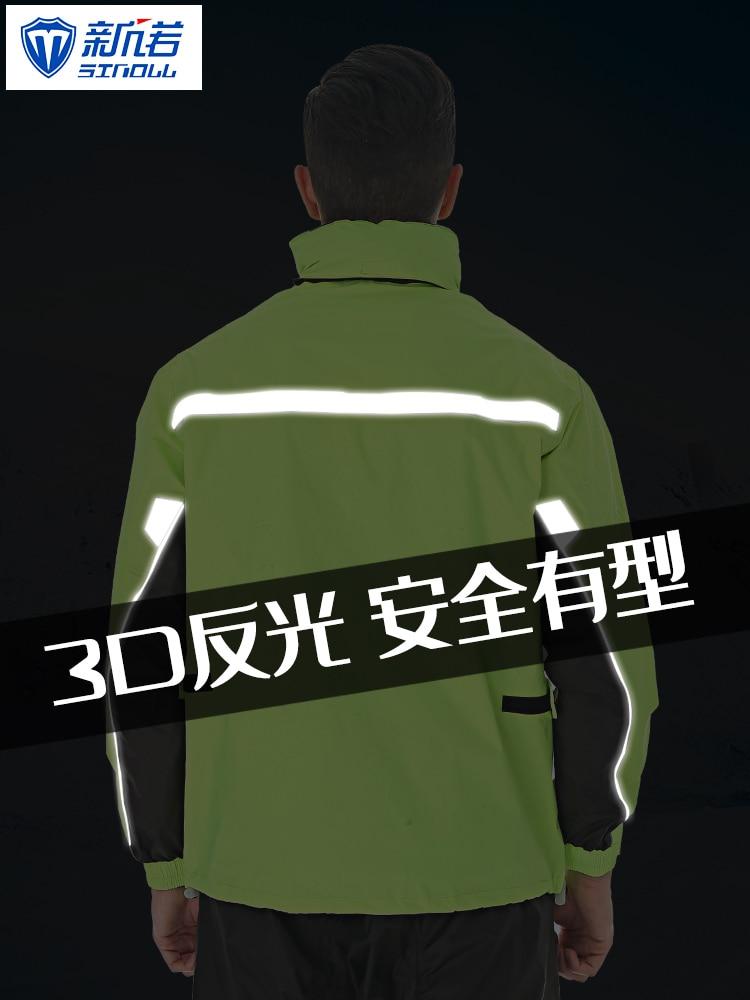 Hooded Cycling Raincoat Adults Waterproof Portable Suit Hiking Raincoat Motorcycle Camping Supplies Regenpak Rain Gear BK50YY enlarge