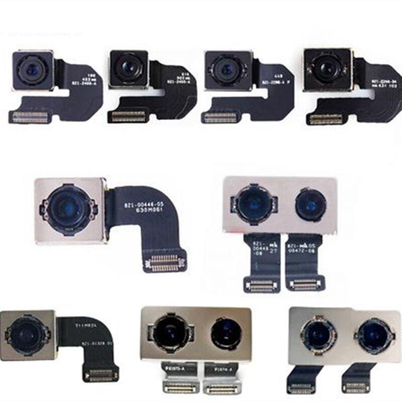 اختبار الكاميرا الخلفية مع مستشعر وحدة الفلاش ، كابل مرن لهاتف iPhone X XR XS 5 5s 5C SE 6 6S 7 8 Plus XS MAX