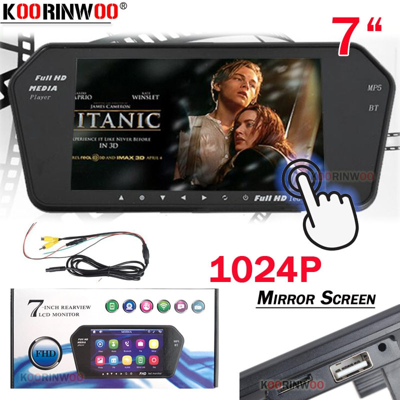 Koorinwoo Media 1024P Touch Screen 7