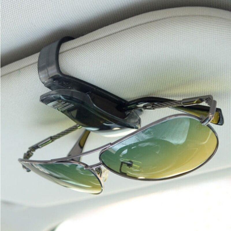 Coche parasol de coche gafas Clip para fiat honda hrv mercedes polo 9n cívica 2014 clio passat b5 se mk2 bravo nissan
