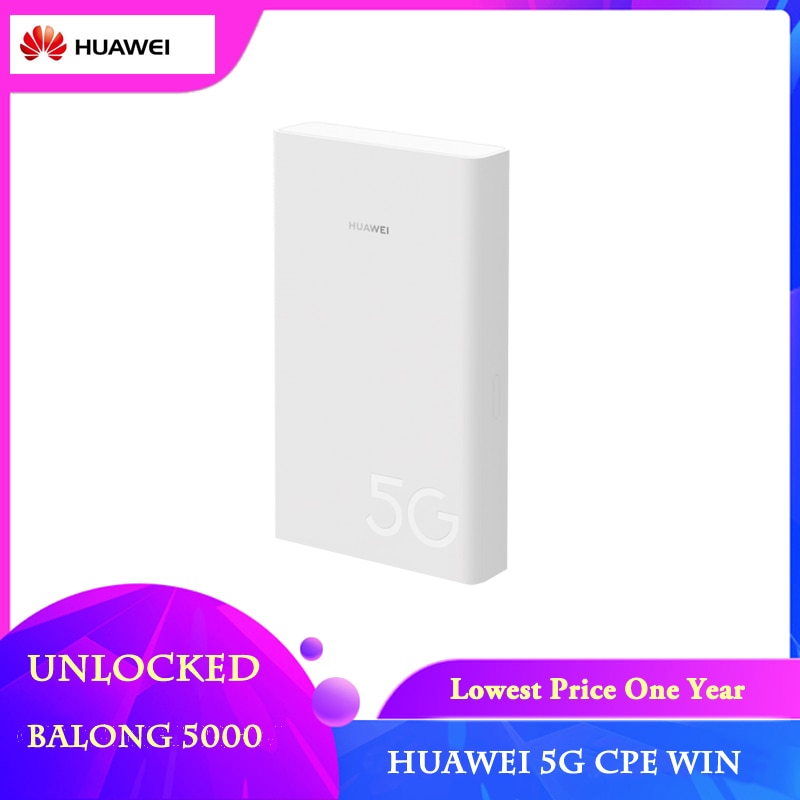 5G Router Outdoor 5G CPE Win Unlocked Huawei H312-371 support sim card slot NSA SA network modes 5G modem WIFI Router