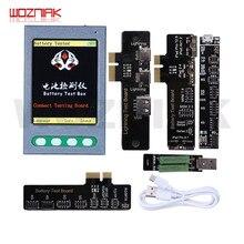 W28 nowa skrzynka pomiarowa baterii tester baterii narzędzie do naprawy wyczyść cykle aktywowane narzędzie do iphonea 4-X XS MAX IPAD kabel danych