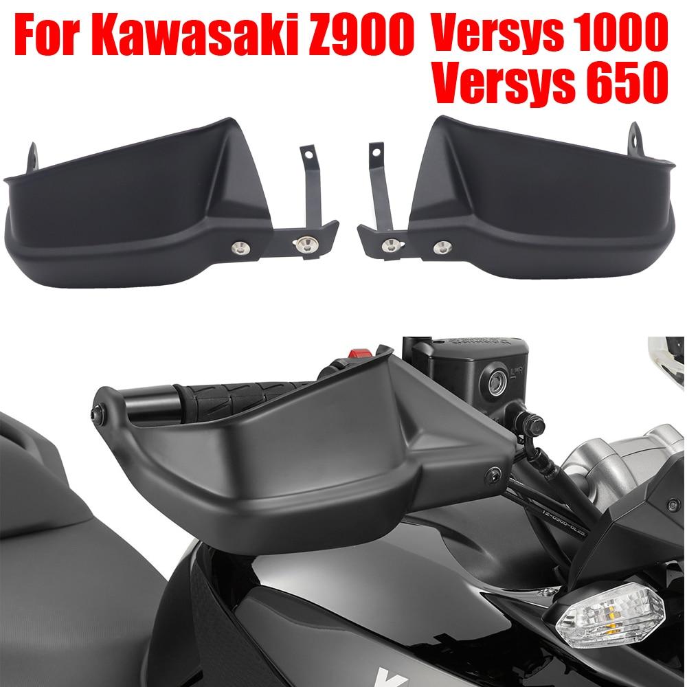 Para Kawasaki Versys 650 1000 Z900 de la motocicleta mano manejar protector manillar guardamanos escudos de embrague de freno de parabrisas