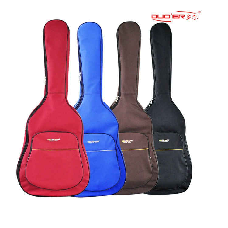 40/41 Inch Guitar Case Waterproof Guitar Bags Customize  Factory Wholesale Bass Bags With Double Shoulder Straps