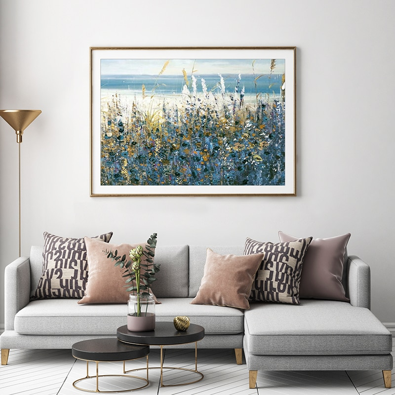 Plant Flower Leaves Landscape Wall Art Canvas Painting Nordic Posters And Prints Pictures For Living Room Decor