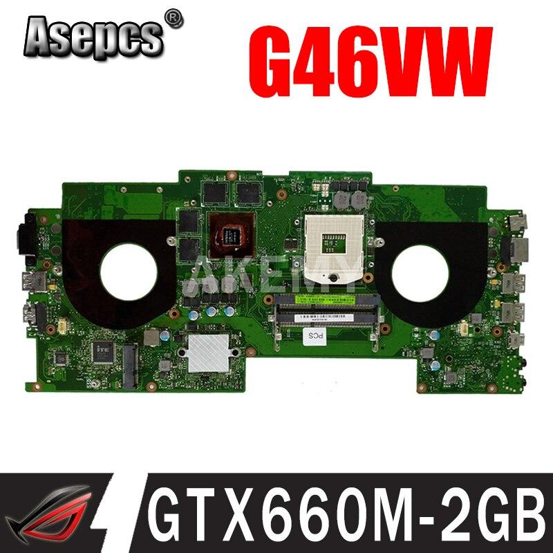 G46VW اللوحة الأصلية ل ASUS ROG G46VW مع GTX660M-2GB اللوحة المحمول