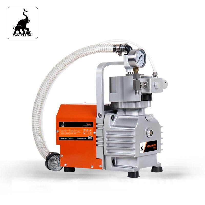 G1022 High Quality Electric Airless Paint Sprayers,   5.2L/min high pressure diaphragm pump airless sprayer enlarge