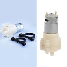 DC 12V R385 Mini Aquarium Pump Fish Tank Motor for Diaphragm Pump Water/AIR Pump