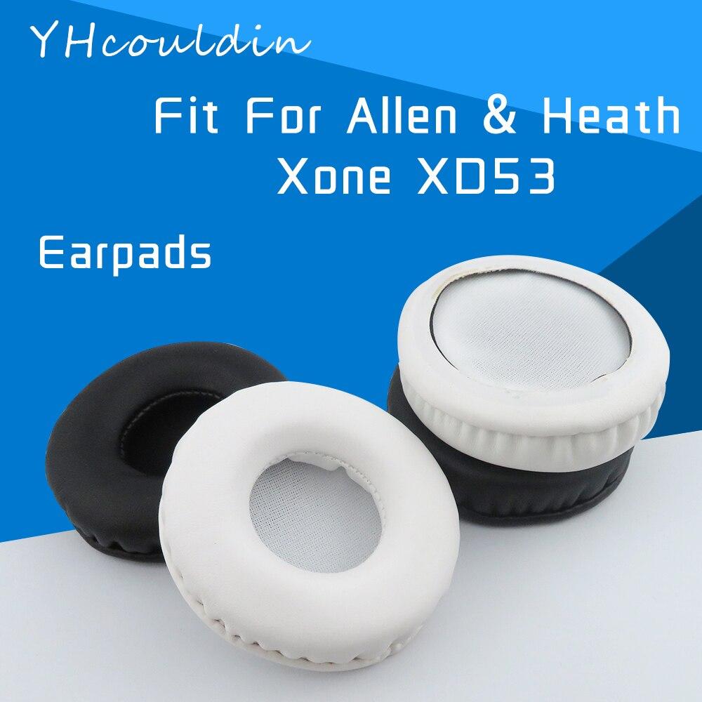 YHcouldin-almohadillas para auriculares Allen & Heath Xone XD-53 XD53, accesorios de cuero...