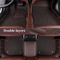 high quality custom special car floor mats for infiniti qx30 2020 durable waterproof double layers carpets for qx30 2019 2017