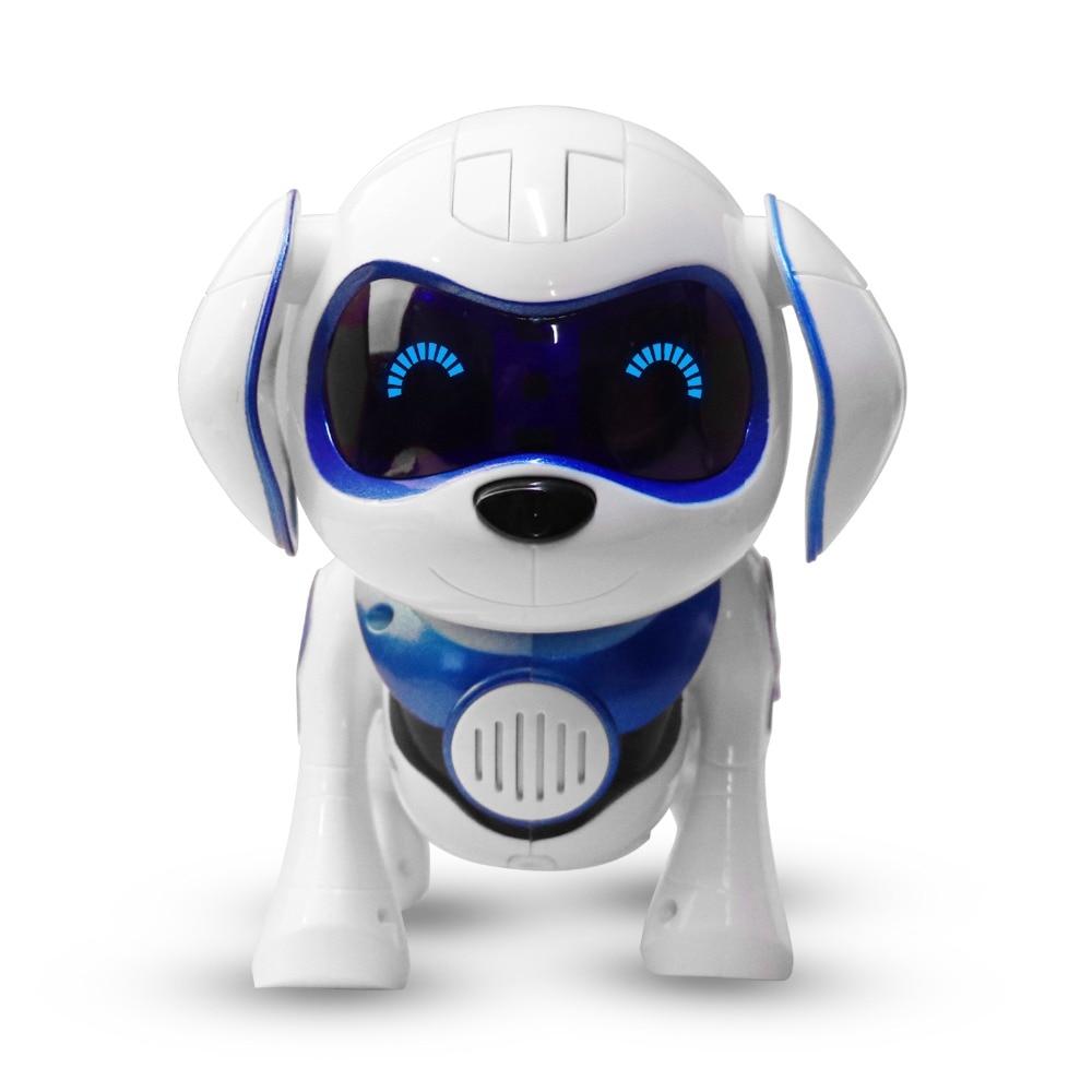 هدية عيد الميلاد ، اتبعنا! روبوت دمية على شكل كلب الإلكترونية الحيوانات الأليفة الكلب الاطفال لعبة الحيوانات الروبوت الذكية هدية عيد ميلاد ا...