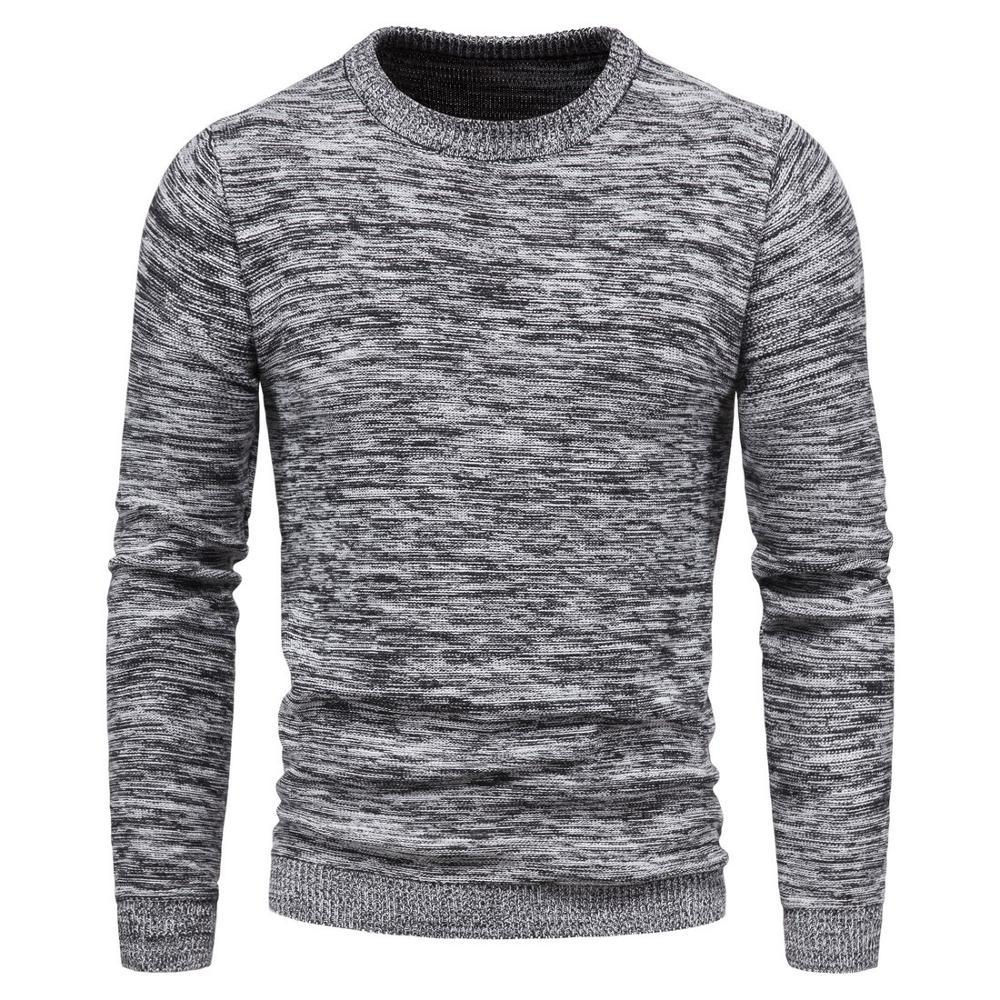 Стильные Мужские штаны, свитер осень-зима пуловеры мужские Свитера Повседневная футболка с о-образным вырезом свитер мужской трикотаж