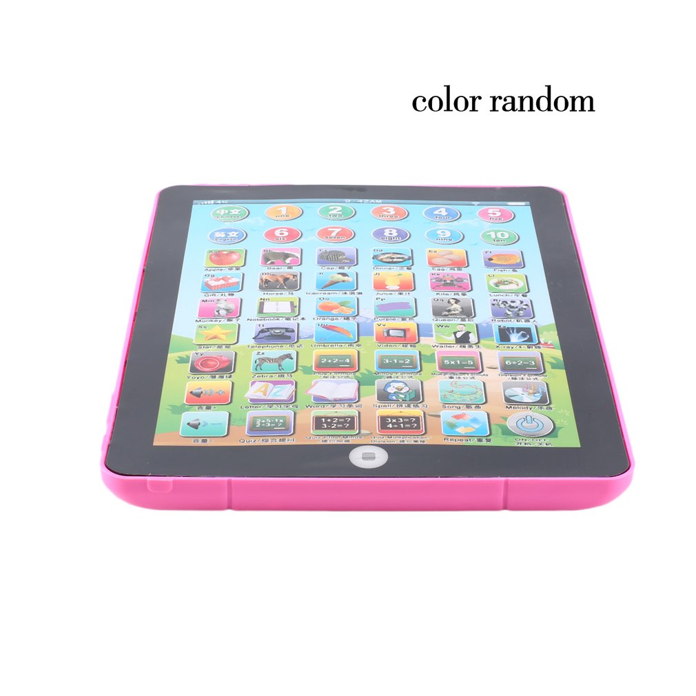 Early Childhood Learning English Machine Computer Learning Education Machine Tablet Toy Gift For Kid Learning Language multifunction educational learning machine english early tablet computer toy kid interactive toy training