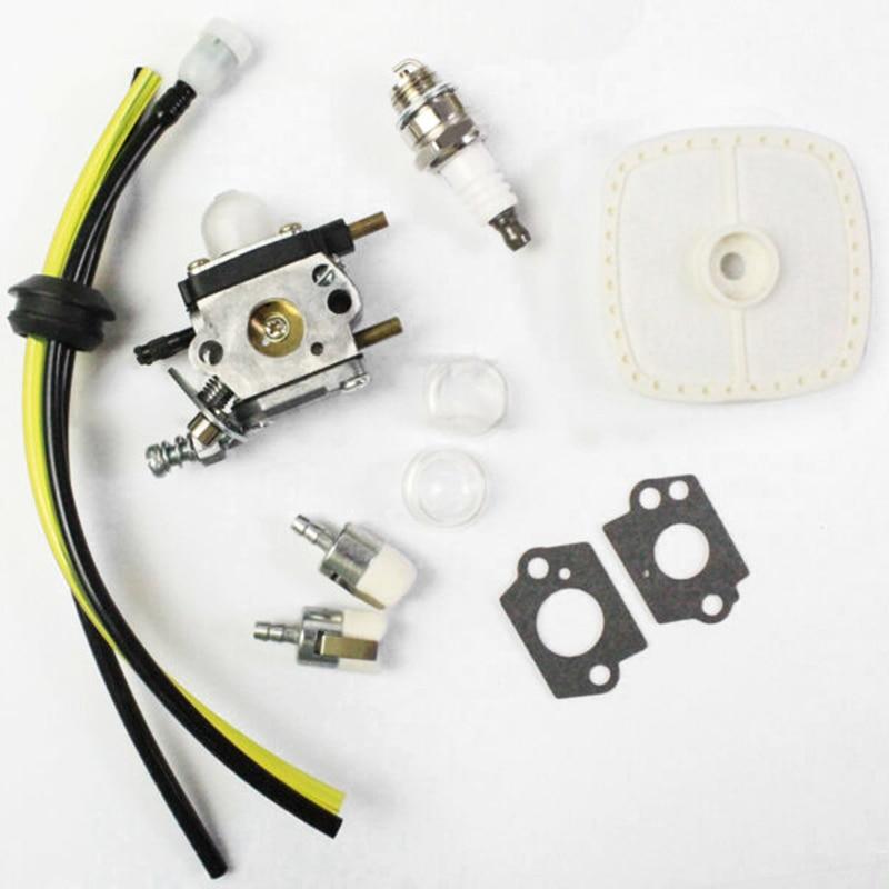 Kit de carburador para Zama C1U-K54A Echo & Mantis, 2 labradores de ciclo, filtros de combustible, recambio de carburador 12520013124 12520013122 12520013123
