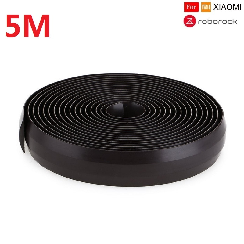 AGV - Virtual magnetic stripe wall for XIAO MI MI ROBOROCK Vacuum Cleaner 5M Wall accessory for sweeping Robot restrict robot