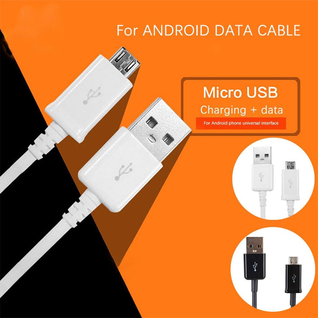 Cable de datos Micro USB, interfaz estándar de 1M, para Samsung y...