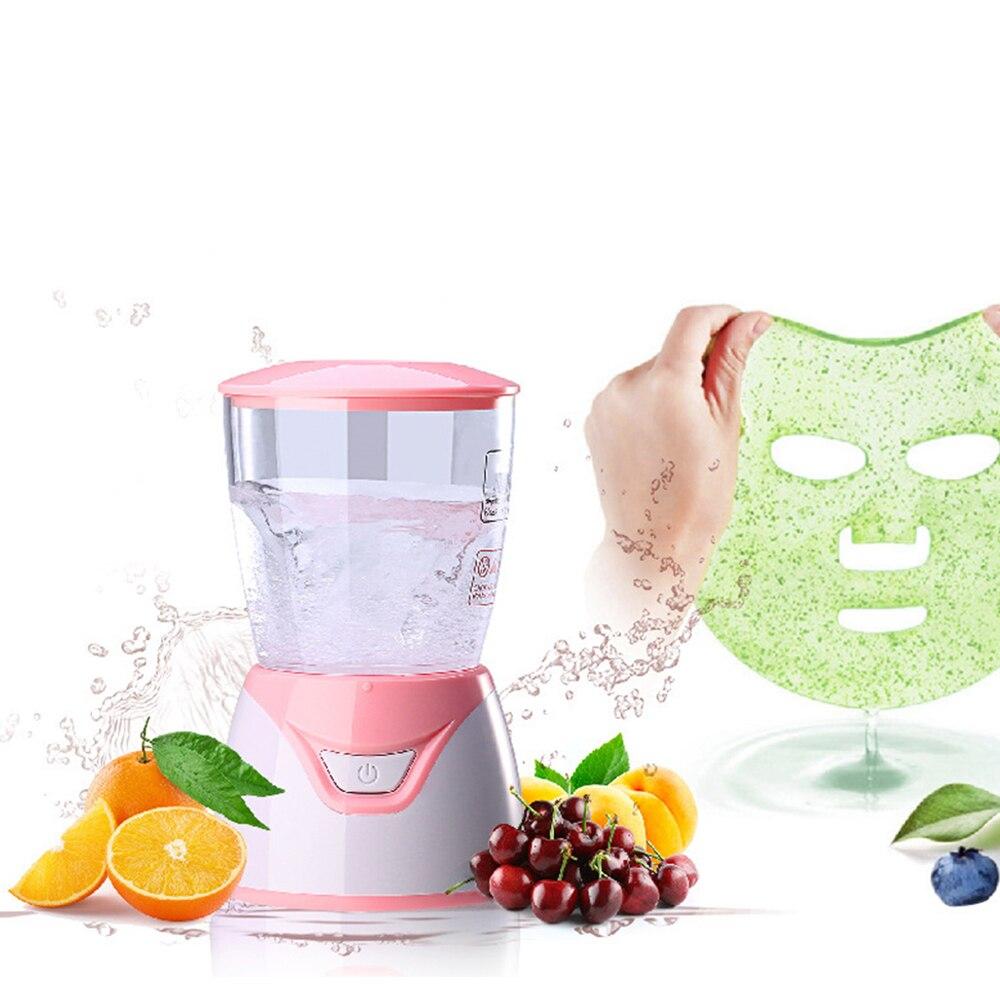 آلة صنع الكولاجين الطبيعي للوجه والفاكهة الأوتوماتيكية المصغر لعام 2021 جهاز للاستخدام المنزلي ومنتجع صحي للعناية بالبشرة والوجه