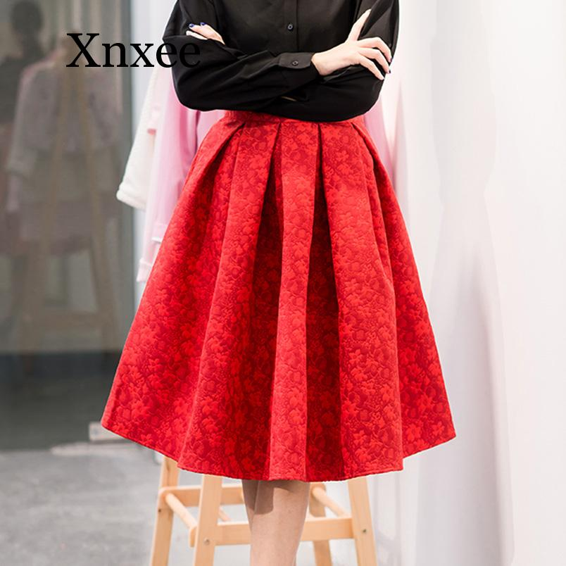 New Faldas Summer Style Vintage Skirt High Waist Work Wear Midi Skirts Womens Fashion American Apparel Jupe Femme Saias knee фото