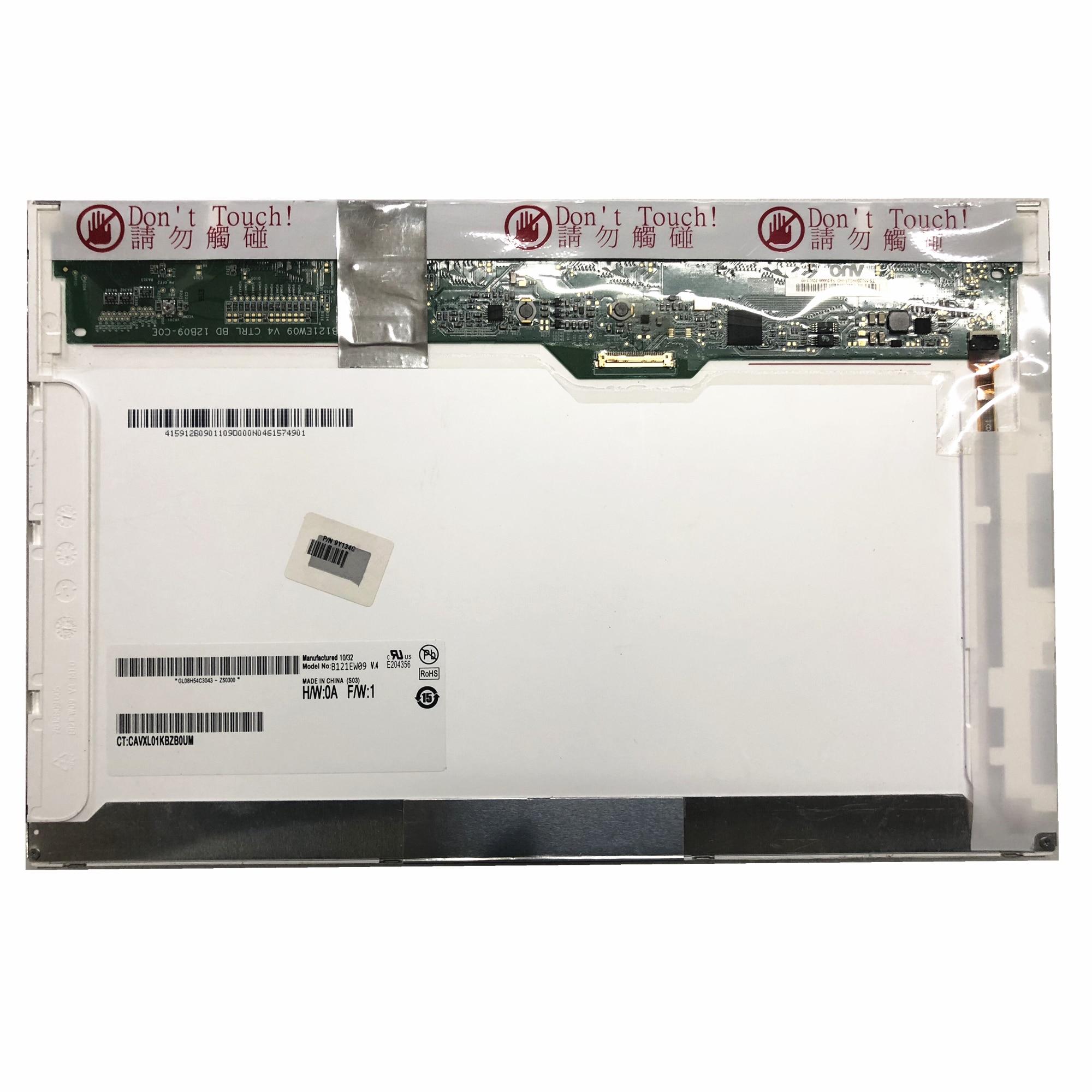 B121EW09 V.4 B121EW09 V4 LTN121AT08 LP121WX3-TPB1 12.1 ''Laptop LCD شاشة 1280*800 EDP 30 دبابيس