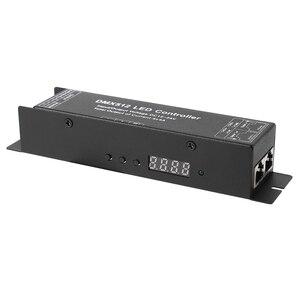 Dmx 512 Decoder Driver Dmx512 Rgbw Controller For Rgbw Led Strip Light 12V-24V