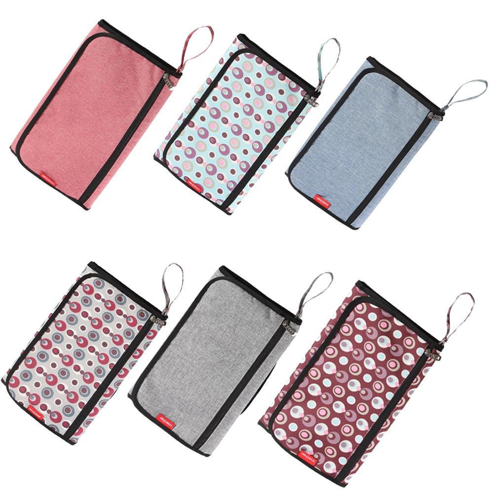 휴대용 아기 기저귀 패드 방수 가방 다기능 diaperbag 아기 변경 기저귀 용품