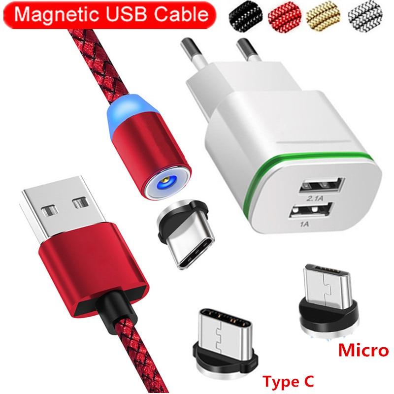 Szybko magnetyczny kabel usb Adapter wtyczka ładowarki dla Huawei Honor v20 v10 v9 8 9 10 7s Y5 Lite zagraj LG Google Pixel 2 3 3A XL przewód