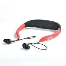 KYK-168 étanche 8 GB MP3 lecteur de musique sous-marine stéréo écouteurs Audio avec FM pour natation Sport pour iphone Samsung