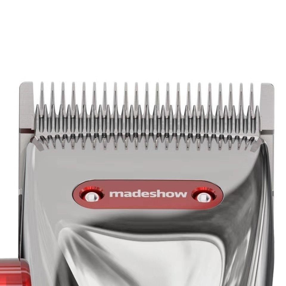 New Professional Electric Hair Clipper Hair Trimmer Titanium Blade Lithium 3000mAh Haircut Machine 7000 SPM T-Outliner Blade enlarge