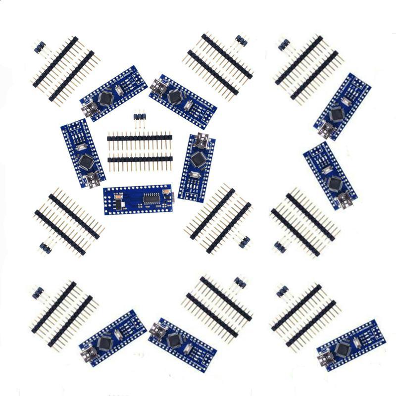 10x Nano V3 Модуль ATMega328 P CH340G 16MHz miniUSB совместимый Arduino