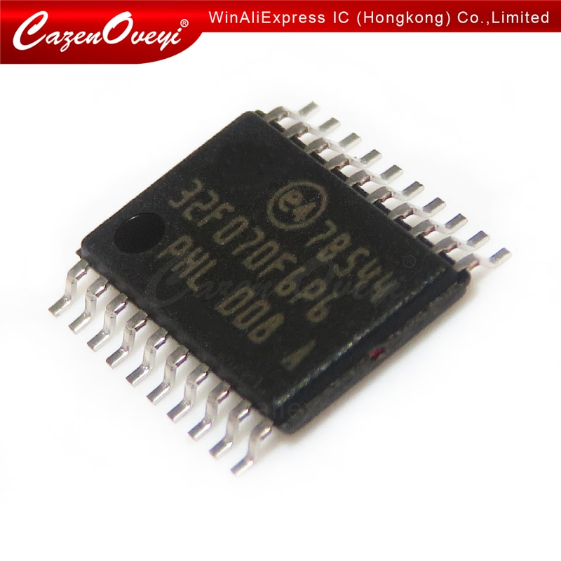 2 قطعة/الوحدة STM32F070F6P6 STM32F070 32MCU TSSOP-20 في الأسهم