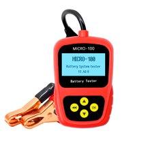 Автомобильный диагностический прибор LANCOL, Цифровой тестер аккумулятора со светодиодный светильник кой