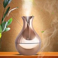 Humidificateur dair galvanoplastie or blanc diffuseur darome huile essentielle 7 couleurs veilleuse brumisateur fabricant de brouillard pour la maison 300ml