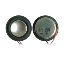 SOTAMIA 2 pièces 28mm Mini haut-parleurs Audio 4 ohms 2W bricolage ordinateur jouet musique haut-parleur pilote pour Home cinéma haut-parleur