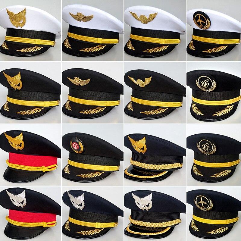 غطاء طائرة ، زي كابتن ، قبعة طيران ، قبعة طيران ، أمن الطيران المدني ، سكة حديد كبيرة ، 2020