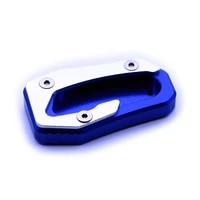 aluminum motorcycle kickstand side stand plate pad support enlarge extension for yamaha tmax530 17 19 screwdriver included