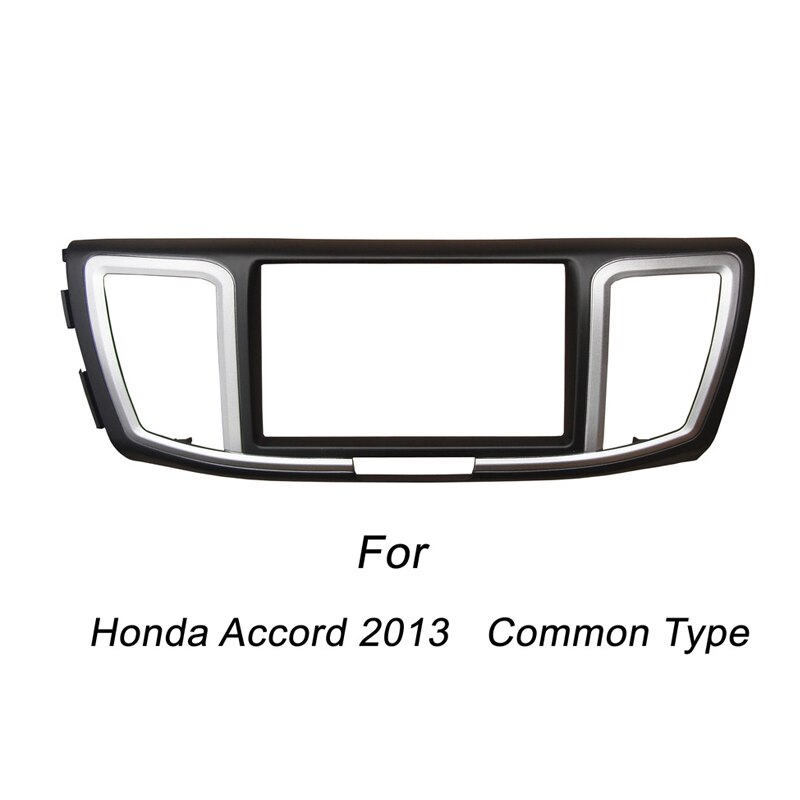 Para Honda Accord Common Type doble Din Fascia Stereo Panel de Radio Dash montaje instalación embellecedor Kit marco frontal bisel