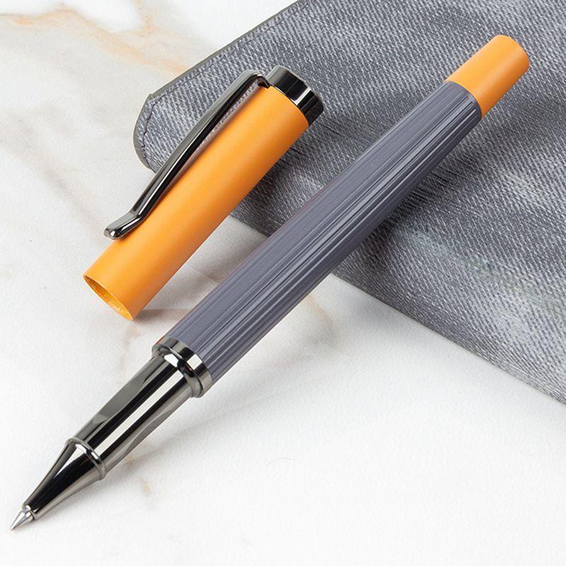 Креативный знак, стильная шариковая ручка в подарок, быстросохнущая металлическая шариковая ручка