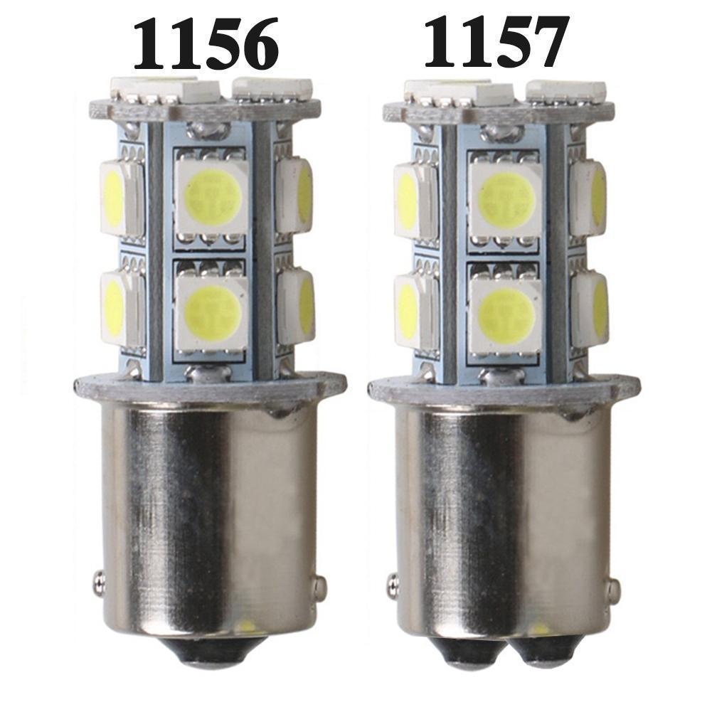 1156 ba15s 1157 bay15d p21w ba15d 13led placa de carro led virar sinal de estacionamento luzes de freio lâmpadas traseiras auto