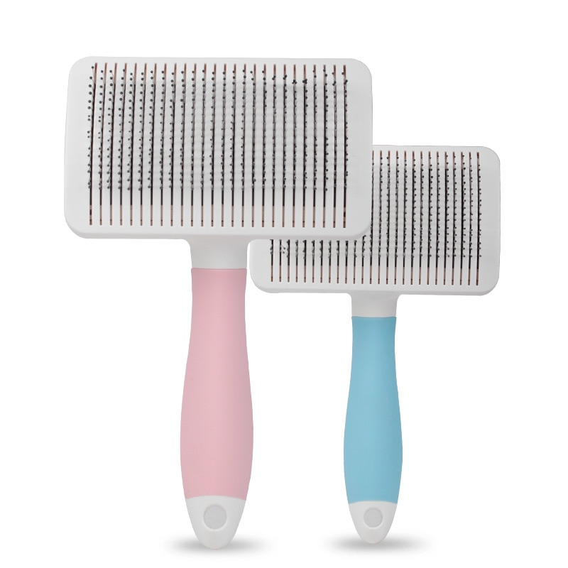 Cepillo de limpieza peine de mascotas ducha de masaje Gog Trimming Grooming Pet Hair Trimmer cachorro rastrillo peine Perte herramienta de desodorización BB50GS