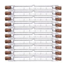 10 pièces R7s ampoule halogène 500W lampe halogène 118mm Double extrémité linéaire ampoule halogène