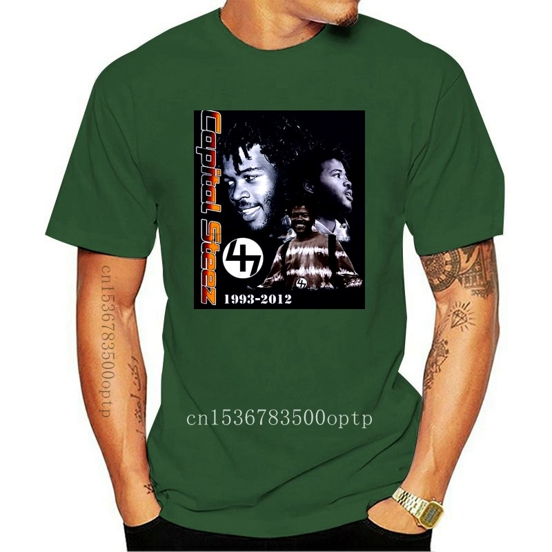 New Capital Steez In Memorial Rap T-Shirts Size S,M,L,Xl,2Xl Loose Size Tee Shirt