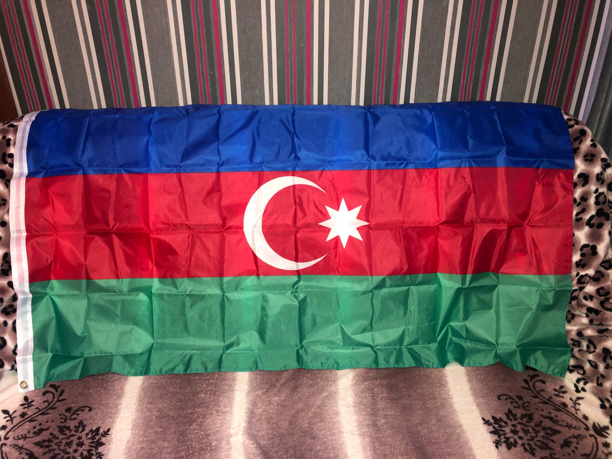 Azerbaijan 90*150cm flag  Hanging National flag Home Decoration flag 201 countries flag national flag symbol fridge magnets combine order accept wholesale business souvenirs