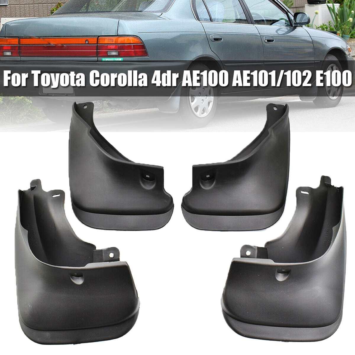 Guardabarros de coche delantero trasero guardabarros Fender TPO guardabarros de plástico para Toyota Corolla 4dr AE100 AE101/102 E100