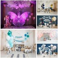 shengyongbao birthday photography backdrops 1st baby newborn portrait photo background party studio photocalls 2021318et 10