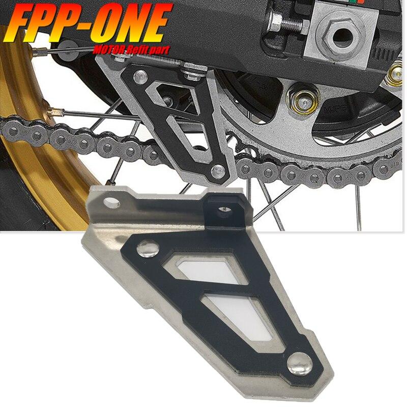 Para HONDA África TWIN CRF1000L ADVENTURE SPORTS, accesorios de motocicleta, protector inferior de cadena, protección de aleta