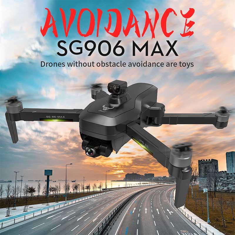 Dron teledirigido Profesional sin escobillas SG906 Pro3/Max, Drone EVO de 3 ejes,...